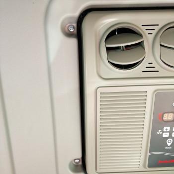 Установка Oblo Aircon на грузовой автомобиль DAF