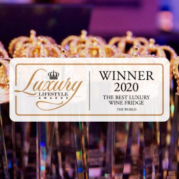 Dunavox получила премию Luxury Lifestyle Awards в категории «Лучший люксовый винный холодильник в мире»