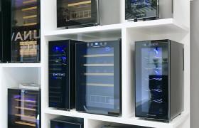 Открытие выставочного зала винных шкафов Dunavox